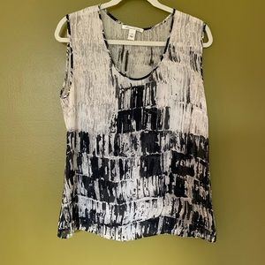 Kenneth Cole NY silk top size medium